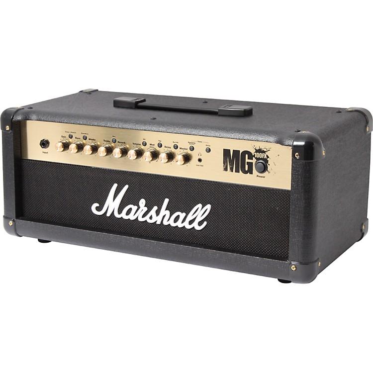 MarshallMG4 Series MG100HFX 100W Guitar Amplifier HeadBlack