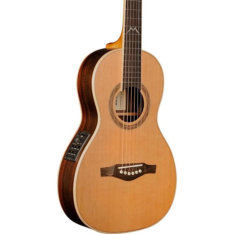 EKOMIA Series Parlor Acoustic-Electric GuitarNatural
