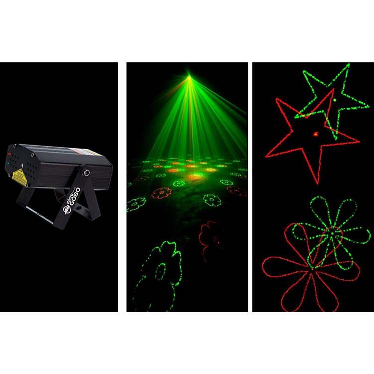 American DJ MICRO GOBO Laser with Red & Green Gobo