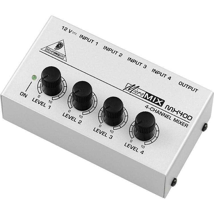 BehringerMICROMIX MX400 4-Channel Line Mixer