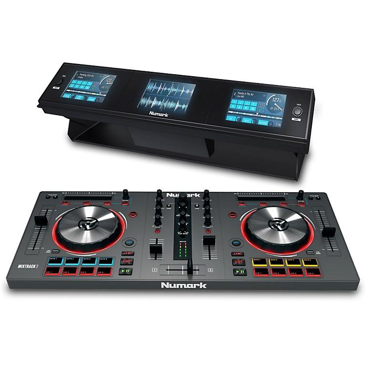 NumarkMIXTRACK 3 DJ Controller with Dashboard 3-Screen Display