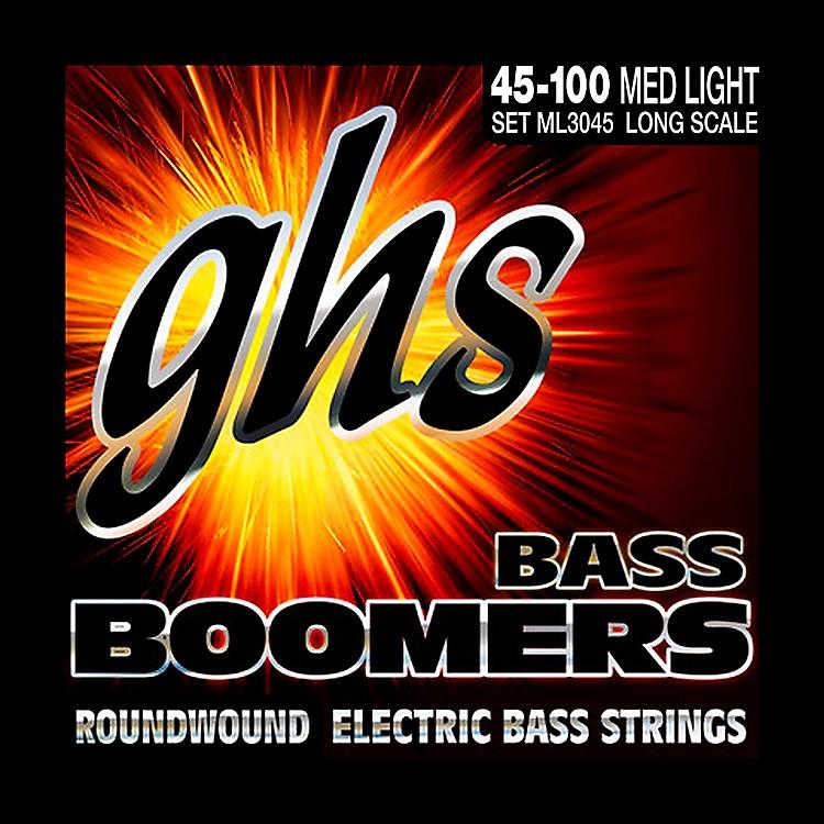 GHSML3045 Boomers Medium Light Electric Bass Strings