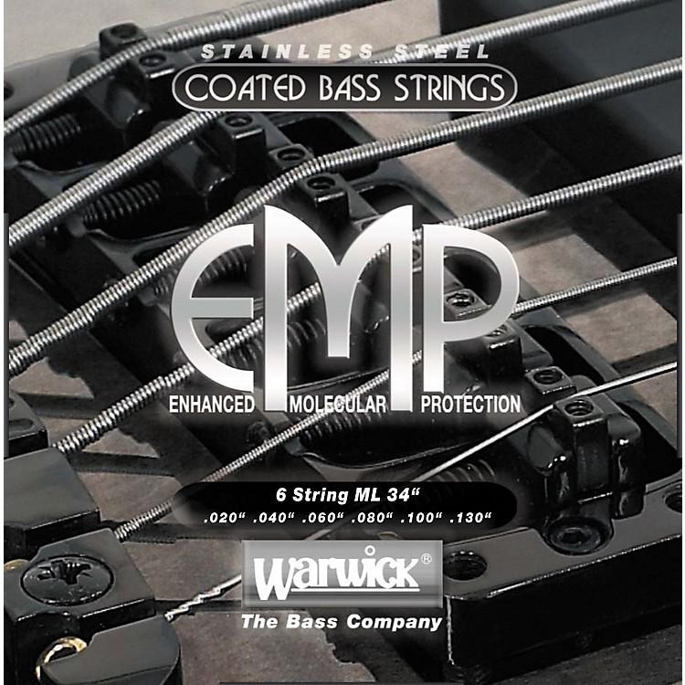 WarwickML6 EMP COATED 6-String Bass Strings Medium Light