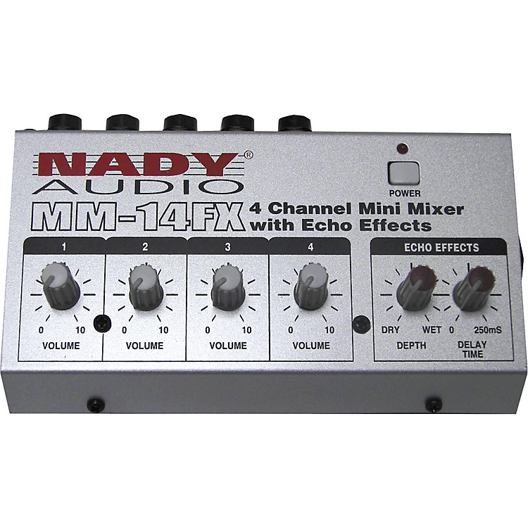 NadyMM-14FX Mini Line Mixer with Effects