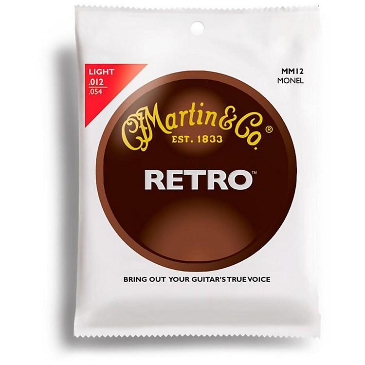 MartinMM12 Retro Series Light Acoustic Guitar Strings