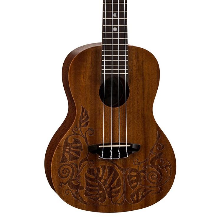 Luna GuitarsMO Mahogany Concert UkuleleLizard Design