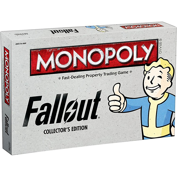USAOPOLYMONOPOLY: Fallout Collector's Edition