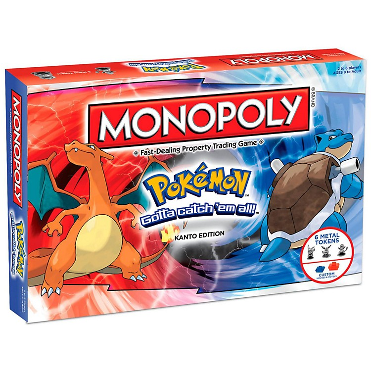 USAOPOLYMONOPOLY: Pokemon: Kanto Edition
