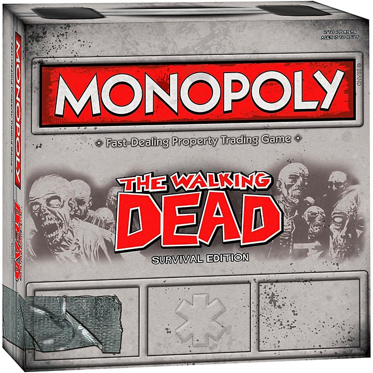 USAOPOLYMONOPOLY: The Walking Dead Survival Edition