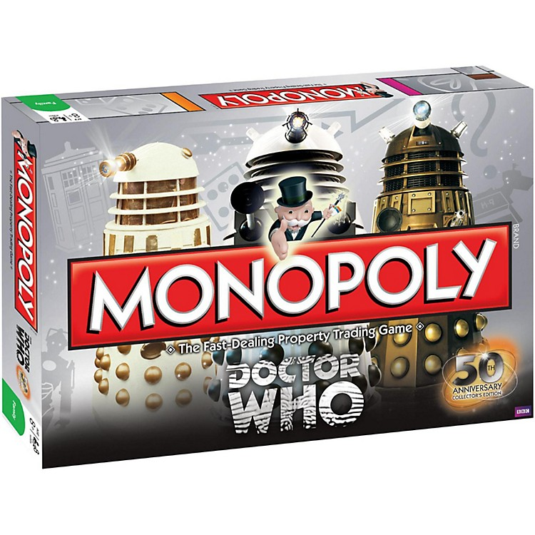 USAOPOLY MONOPOLY:Doctor Who 50th Anniversary Collector's Edition