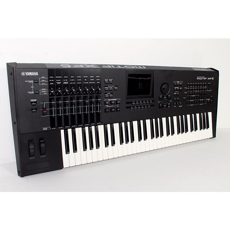 Yamaha MOTIF XF6 61-Key Music Production Synthesizer  888365794341