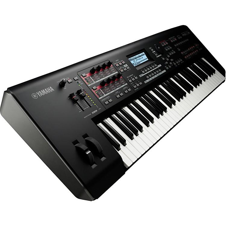 YamahaMOX6 61-Key Semi-Weighted Music Production Synthesizer Workstation