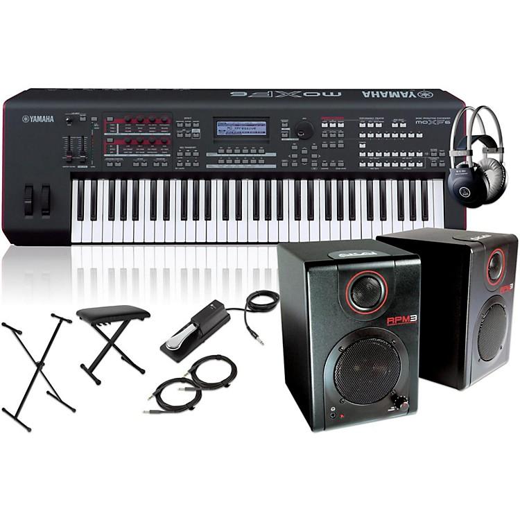 YamahaMOXF6 Synthesizer Package