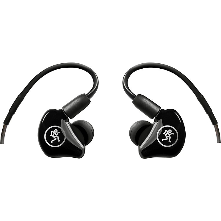 Mackie MP-240 Dual Hybrid Driver Professional In-Ear Monitors Black