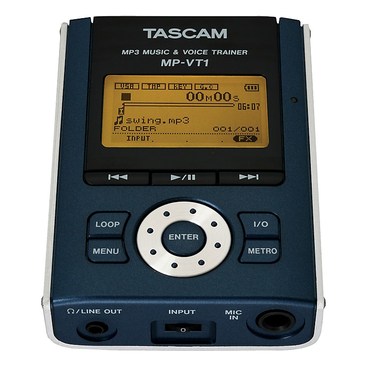 Tascam MP-VT1 Portable MP3 Vocal Trainer