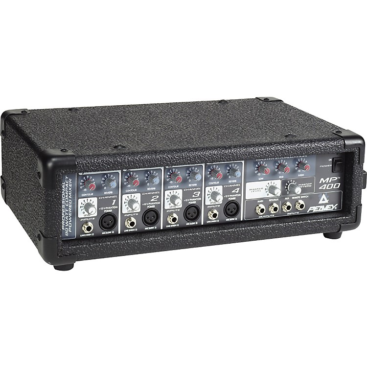 Peavey mp400 80w 4 channel powered mixer music123 peavey mp400 80w 4 channel powered mixer publicscrutiny Gallery