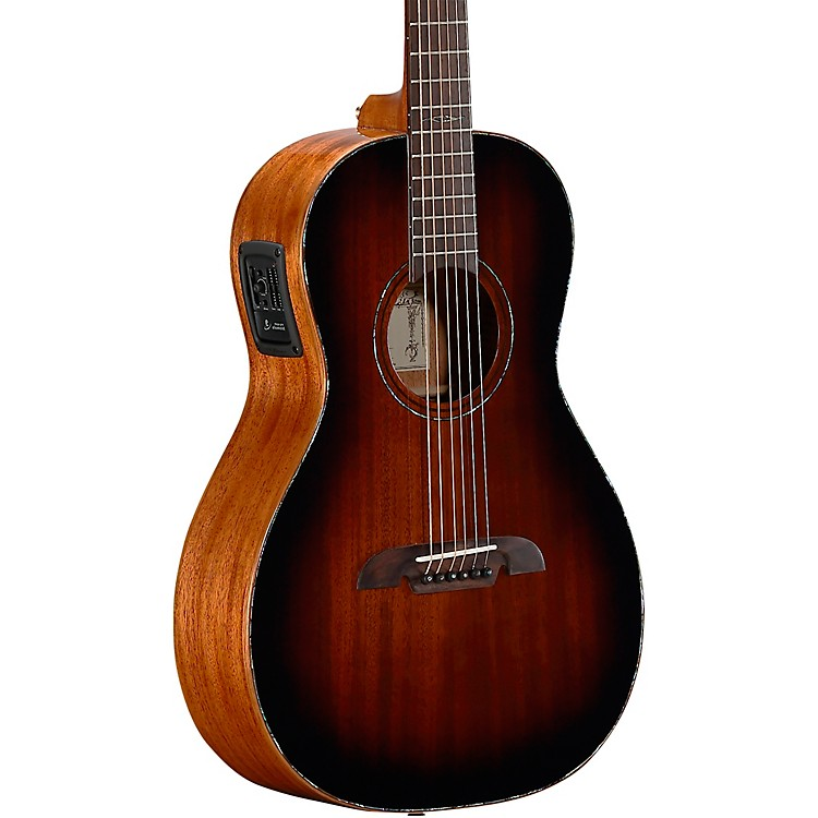 Alvarez MPA66ESHB Parlor Acoustic-Electric Guitar Shadow Burst