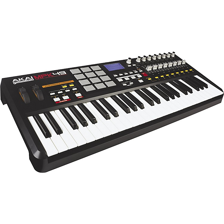 akai professional mpk49 keyboard usb midi controller music123. Black Bedroom Furniture Sets. Home Design Ideas