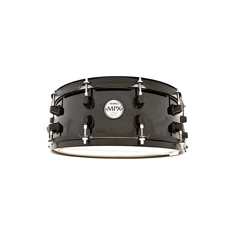Mapex MPX Maple Snare Drum 13 x 6 in. Black