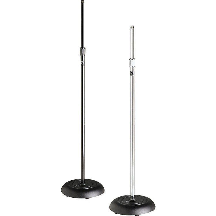 Atlas Sound MS-10C Round Base All-Purpose Mic Stand Chrome