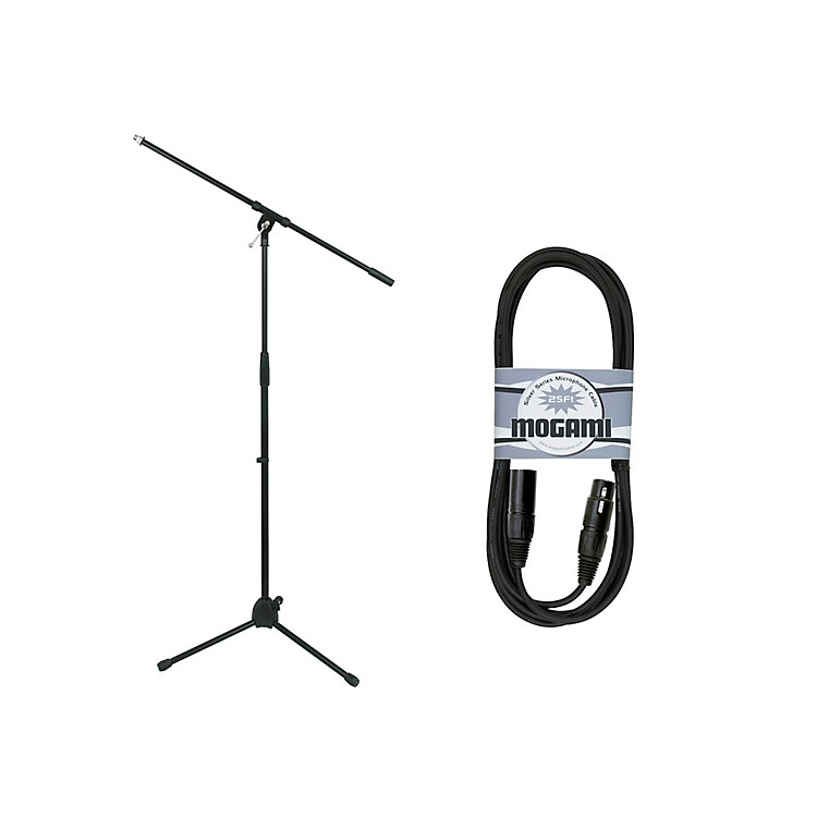 MogamiMS-220 Tripod Mic Stand with 25' Cable