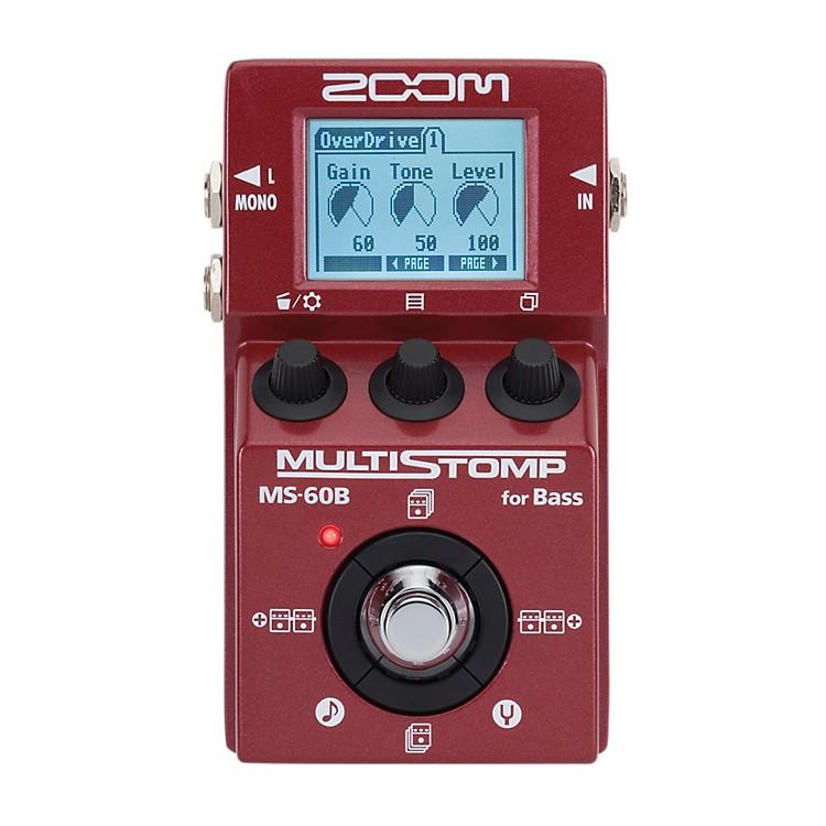 ZoomMS-60B Multi-Stomp Bass Pedal