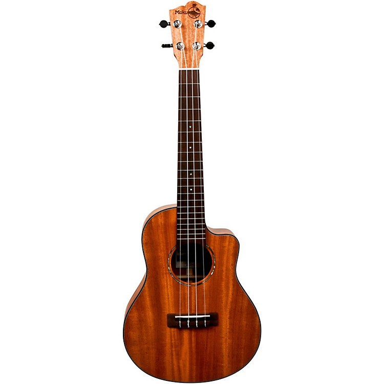 Moku MS-60TC Mahogany Tenor Acoustic-Electric Ukulele Natural