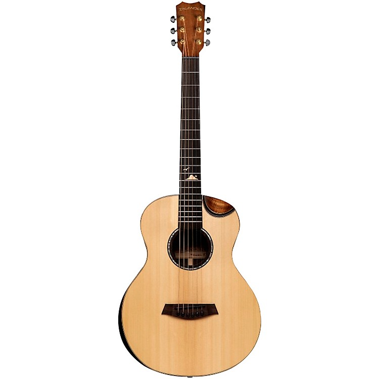 IslanderMS-MG-EQ Acoustic-Electric Mini GuitarNatural
