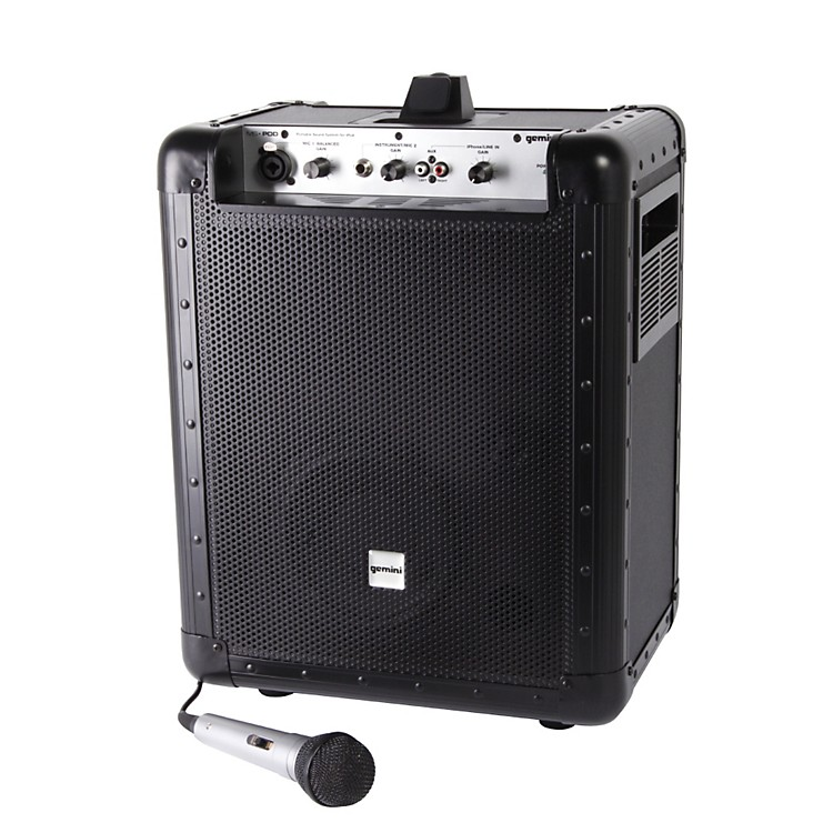 GeminiMS-POD Portable Sound System with iPod Dock886830663611