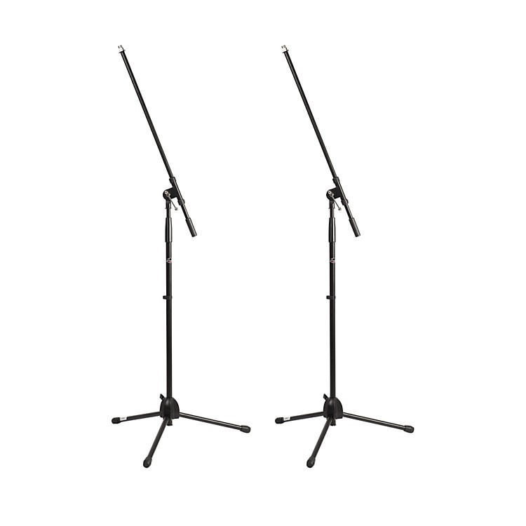 ProlineMS220 Tripod Boom Microphone Stand2-PackBlack
