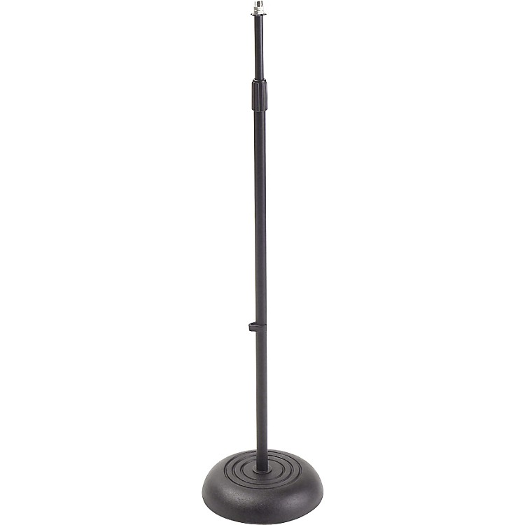 Proline MS235 Round Base Microphone Stand Black