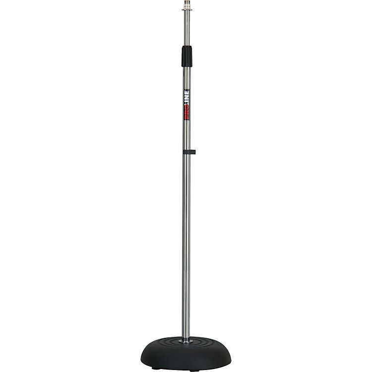 Proline MS235 Round Base Microphone Stand Chrome