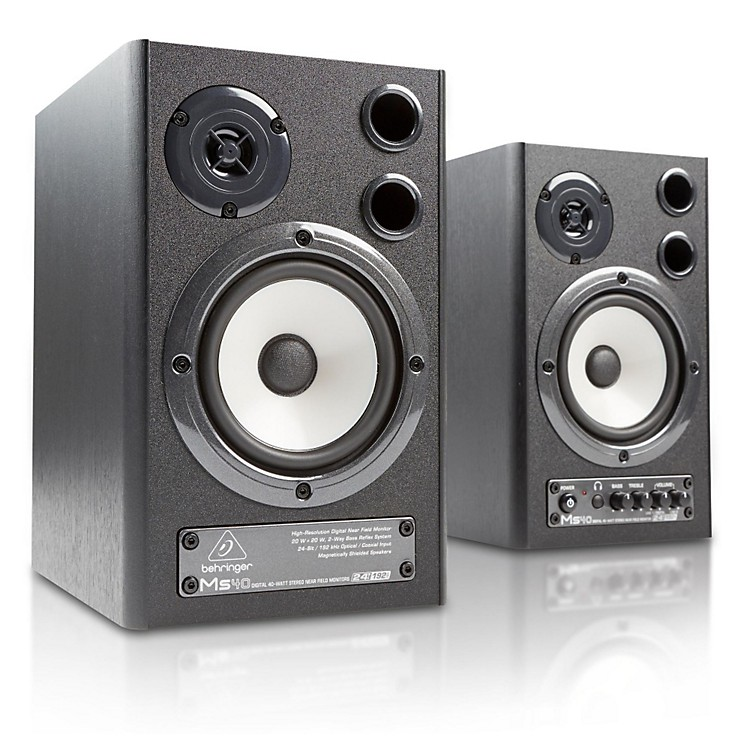 Behringer MS40 Powered Studio Monitor (Pair)