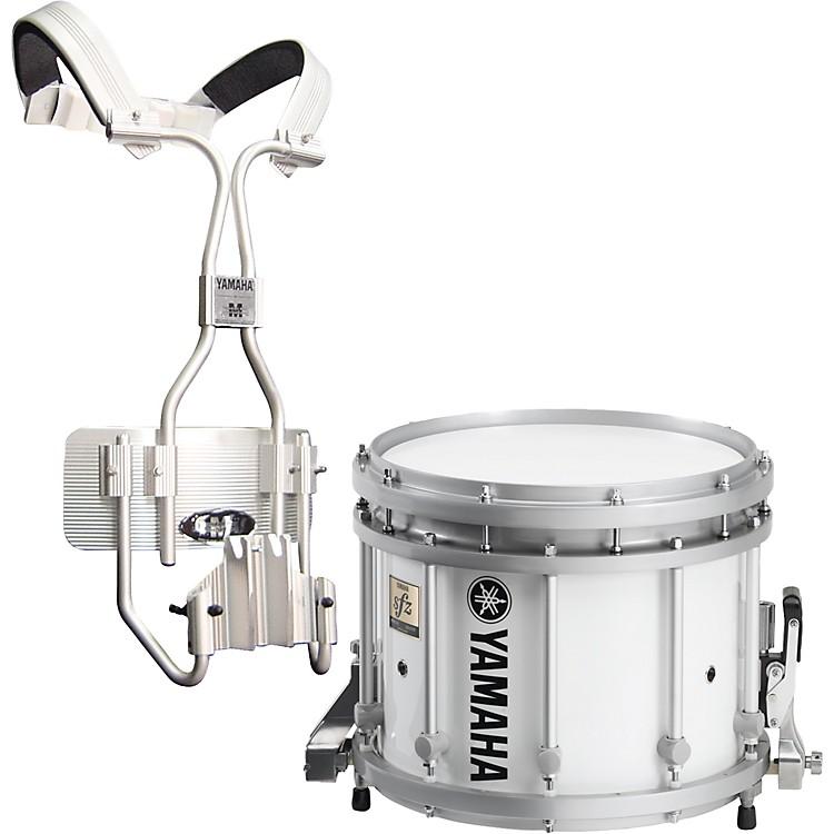 YamahaMS9213 SFZ White Marching Snare Drum