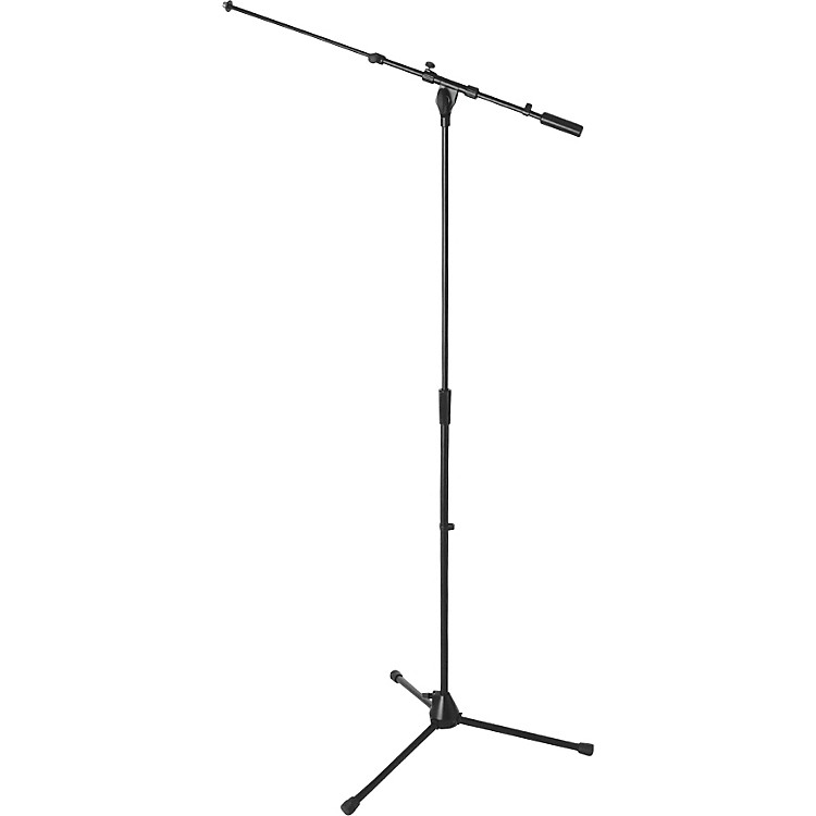 On-Stage MS9701TB+ Heavy-Duty Tele-Boom Mic Stand Black