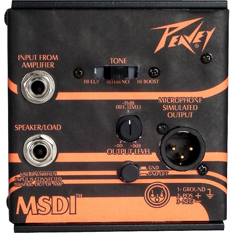 PeaveyMSDI Microphone Simulated Direct Interface
