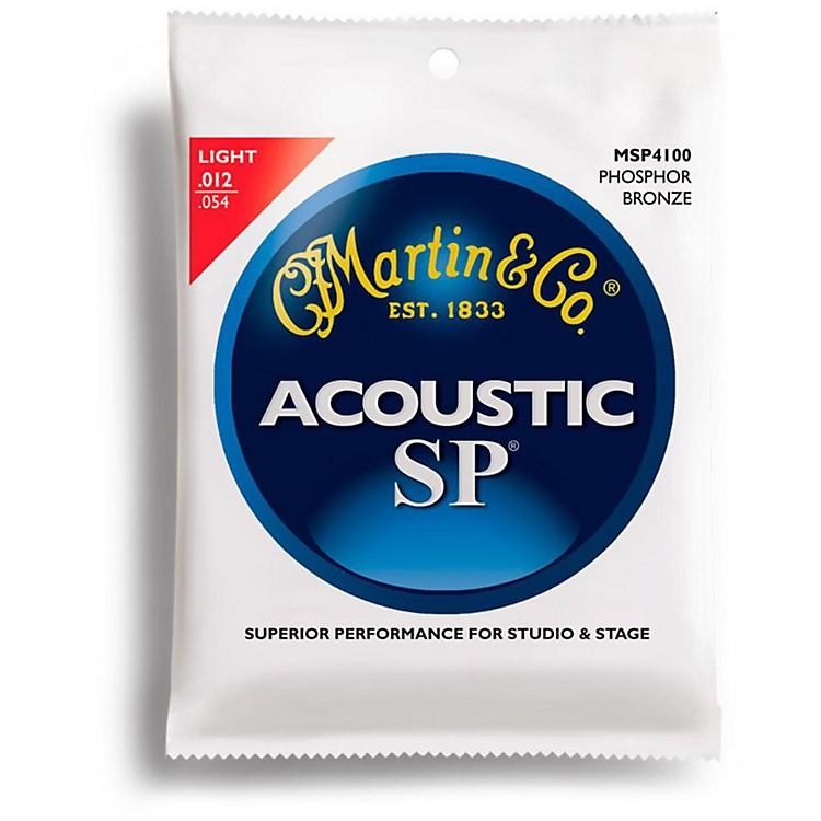 MartinMSP4100 SP Phosphor Bronze Light Acoustic Strings