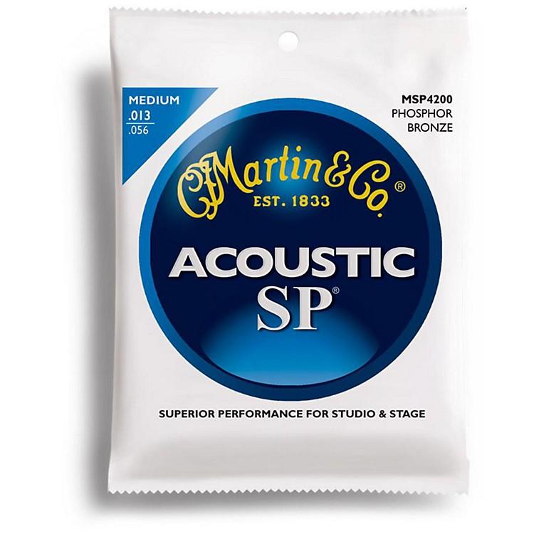 MartinMSP4200 SP Phosphor Bronze Medium Acoustic Guitar Strings