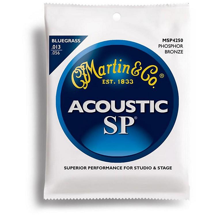 MartinMSP4250 SP Bluegrass Medium Acoustic Guitar Strings