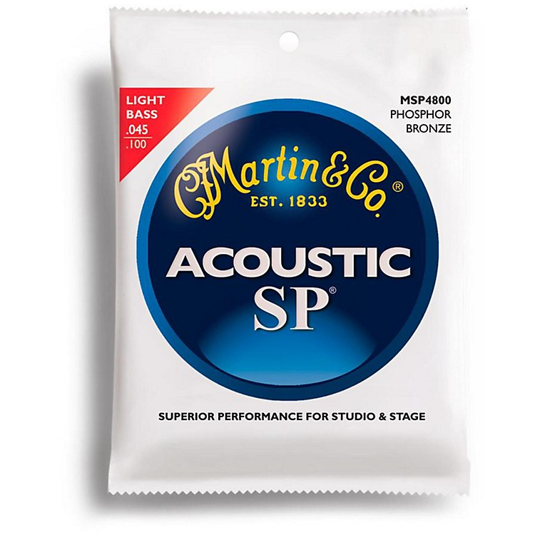 MartinMSP4800 4-String SP Light Acoustic Bass Strings