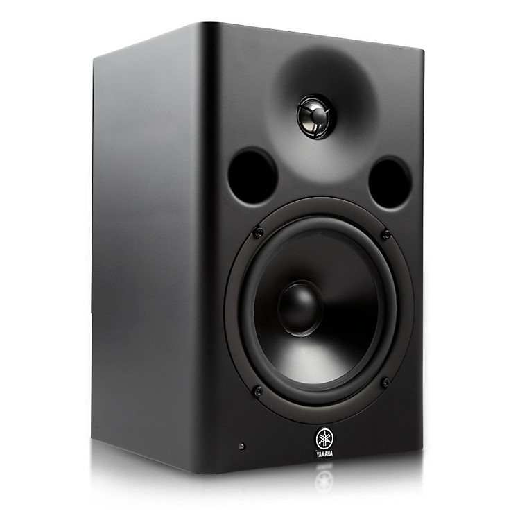 Yamaha msp7 studio powered studio monitor music123 for Yamaha powered monitor speakers