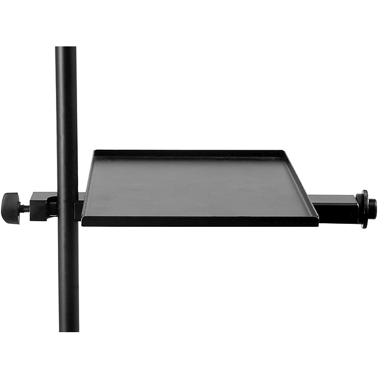 On-Stage Stands MST1000 Combo Accessory Microphone Stand Tray Black
