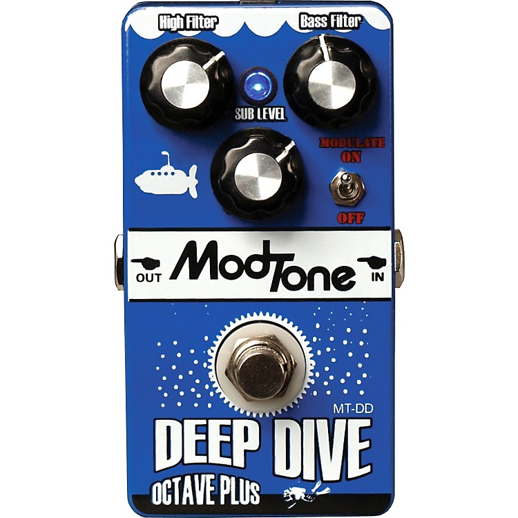 Modtone MT-DD Deep Dive Octave Plus Guitar Effects Pedal