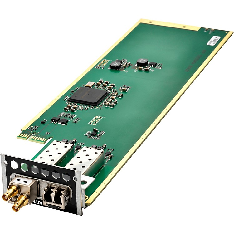 AvidMTRX Dual MADI I/O Card without SFP