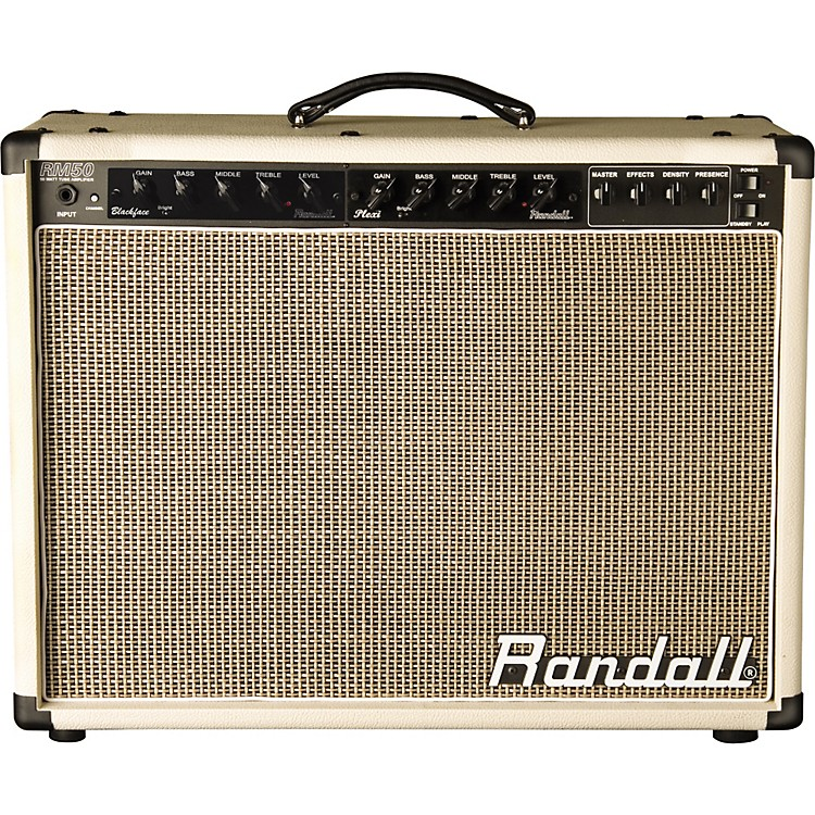 Randall MTS Series RM50CRP 50W Tube Guitar Combo Amp Without Preamp Module
