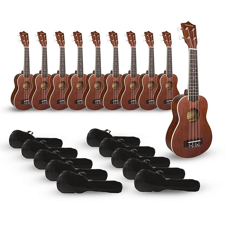 MitchellMU40 Soprano Ukulele Classroom 10-Pack