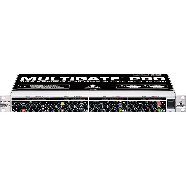 behringer multigate pro xr4400 quad expander gate music123. Black Bedroom Furniture Sets. Home Design Ideas