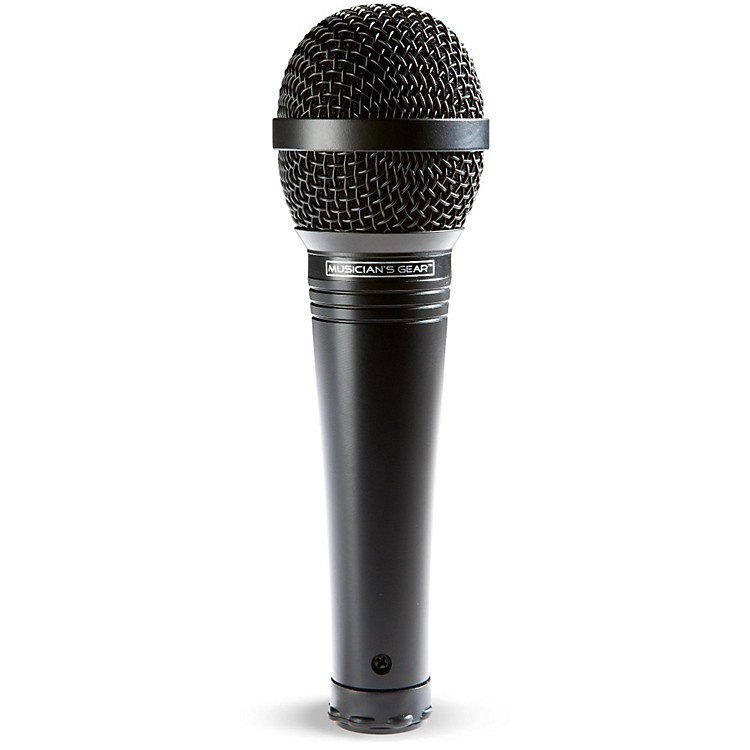 Musician's Gear MV-1000 Handheld Dynamic Vocal Microphone Black