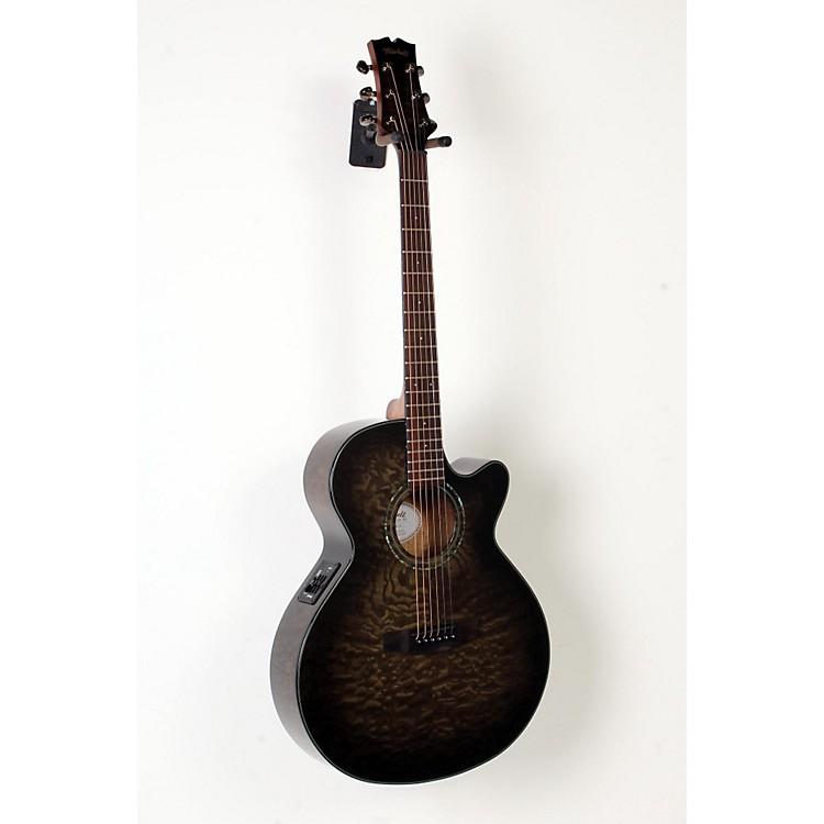 MitchellMX420 Grand Auditorium Acoustic-Electric GuitarMidnight Black Finish888365831497