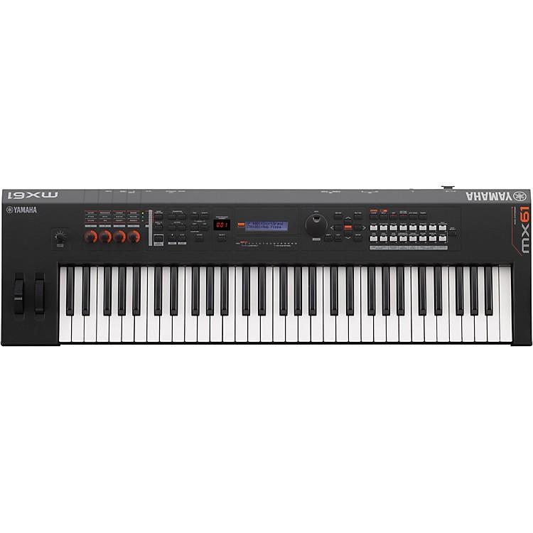 YamahaMX61 61 Key Music Production SynthesizerBlack